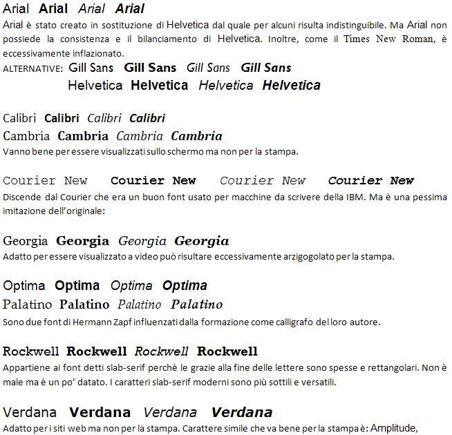 Corso di tipografia per avvocati - Due caratteri diversi ...